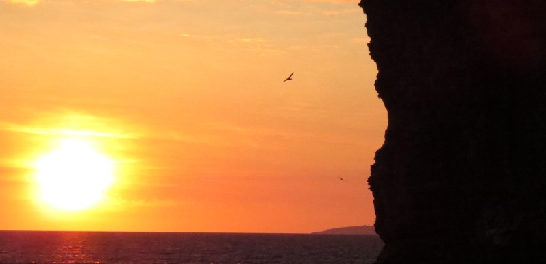 cliff sun set picasso (Custom)