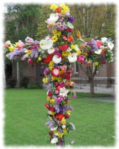 Flowered-cross