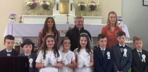 First Communion Knockaclarig