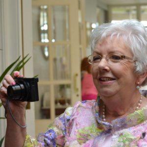 Mary Cogan with Camera
