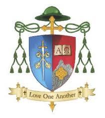 Bishop Ray's crest