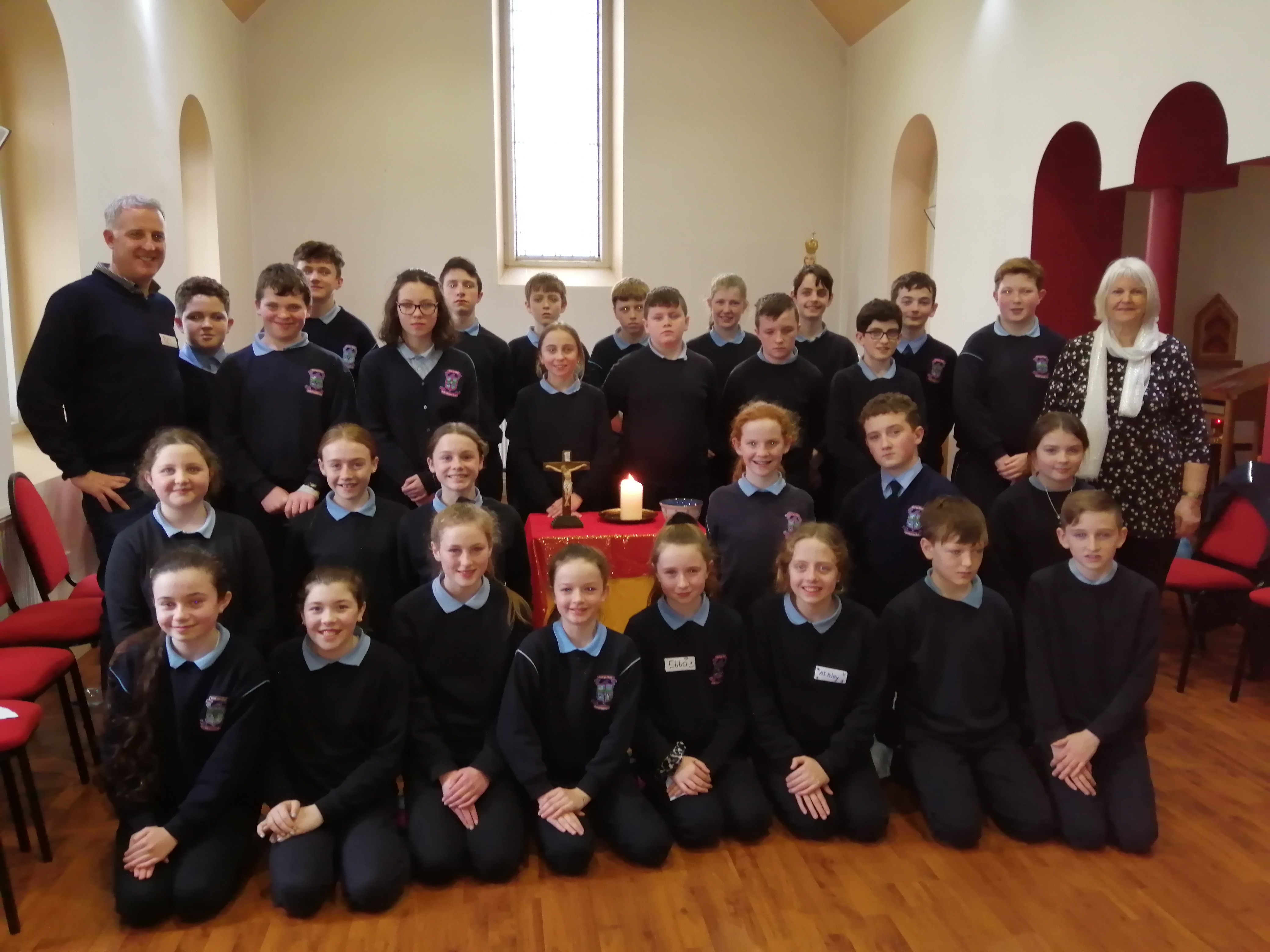 Confirmation Retreat for 6th class students in Ardfert Retreat Center